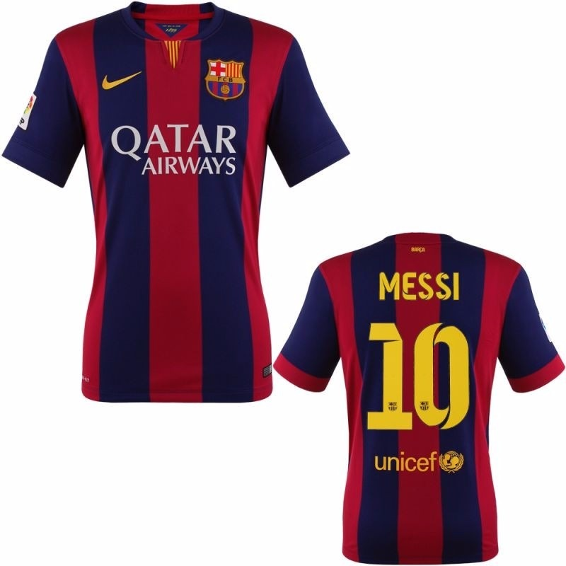 Playera Jersey Barcelona 2014-2015 Nueva En L -   420.00 en Mercado ... 1ca617e2c2f9c