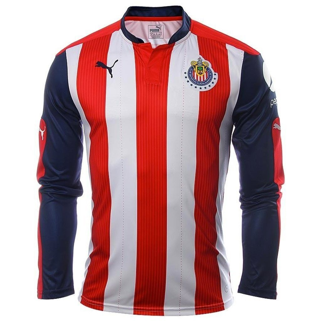 8e627810e31fa Playera Jersey Camiseta Chivas Puma Original Local -   393.00 en Mercado  Libre