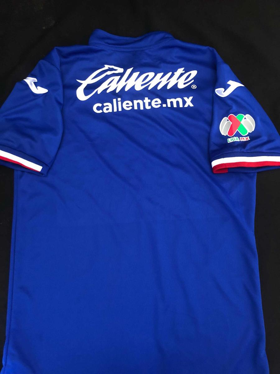 Playera Jersey Camiseta Cruz Azul 2019 Local Nueva Máquina ...