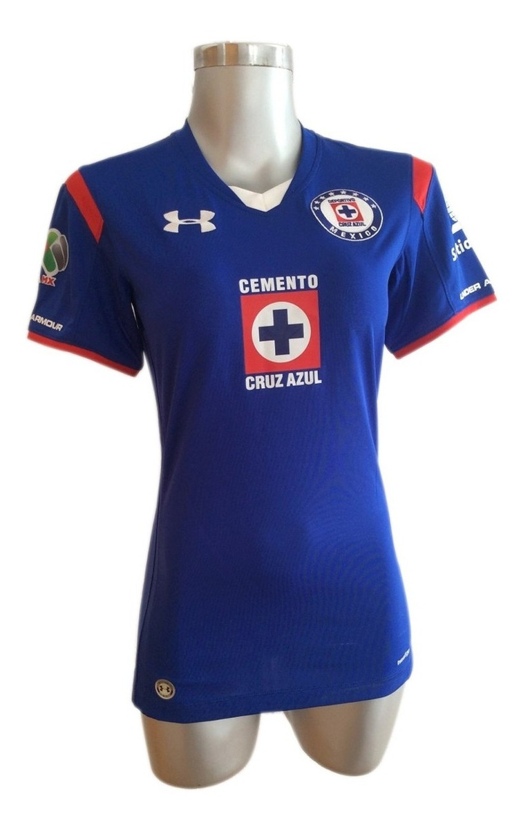 Playera Jersey Cruz Azul 14/15 Mujer Under Armour Ua015 ...