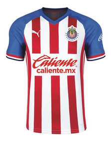 Playera Jersey De Chivas De Local Para Hombre Temporada 2019 2020 Version Aficionado Original 100% Marca: Puma