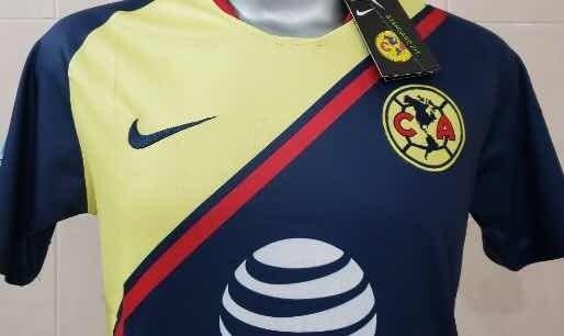 more photos 66fe1 6435d Playera Jersey De Las Águilas Del América 2018-2019 Visita