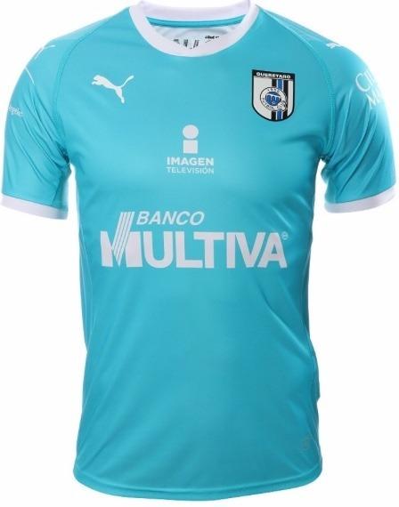 4fe4b39302119 Playera Jersey De Queretaro Visita 2018 2019 Marca Puma -   549.00 ...
