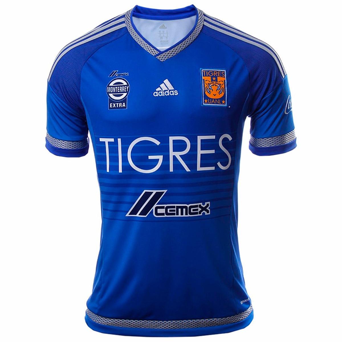playera jersey de visitante tigres uanl 15 16 adidas s29562. Cargando zoom. 7b220af41c8a4