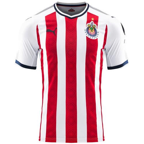 playera jersey guadalajara chivas hombre 01-c puma 752779