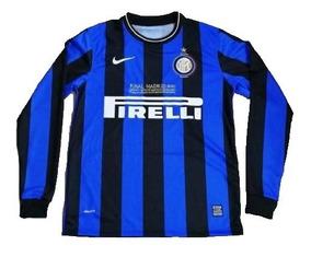 huge discount a1461 242dd Playera Jersey Inter De Milan Final Champions 2010 Manga Larga