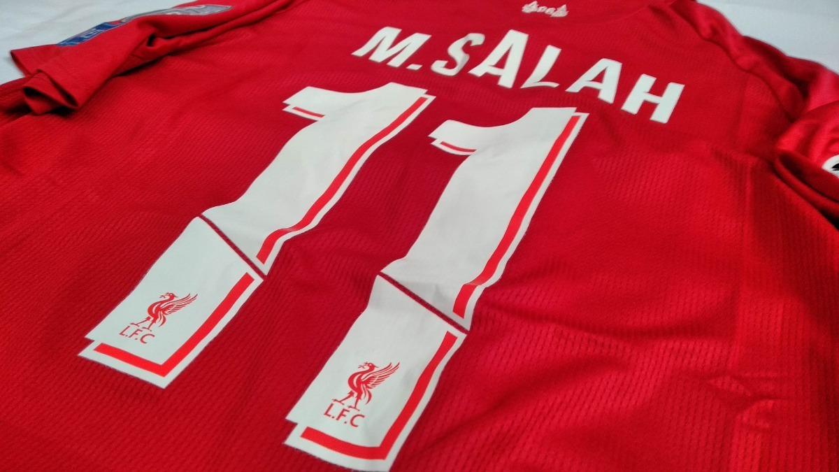size 40 6c2ac 3c45a Playera Jersey Liverpool 2018-19 Con Etiquetas! #11 M. Salah