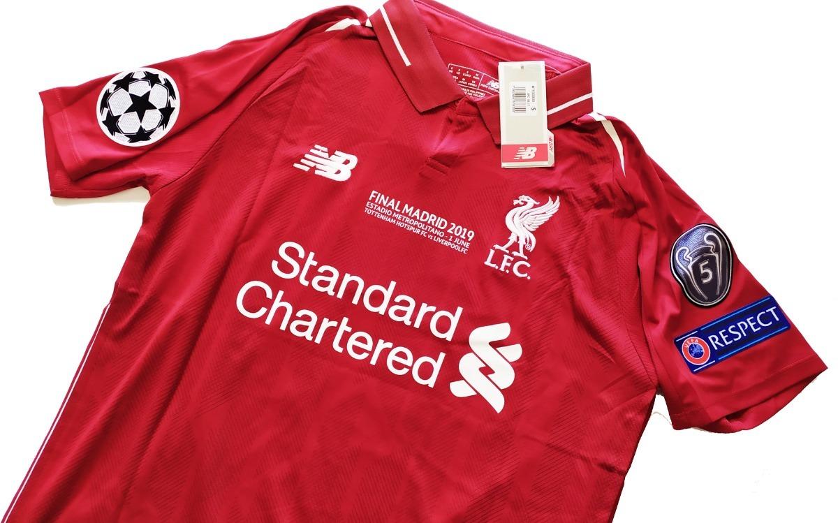 size 40 e68c6 9eb79 Playera Jersey Liverpool 2018-19 Con Etiquetas! #11 M. Salah