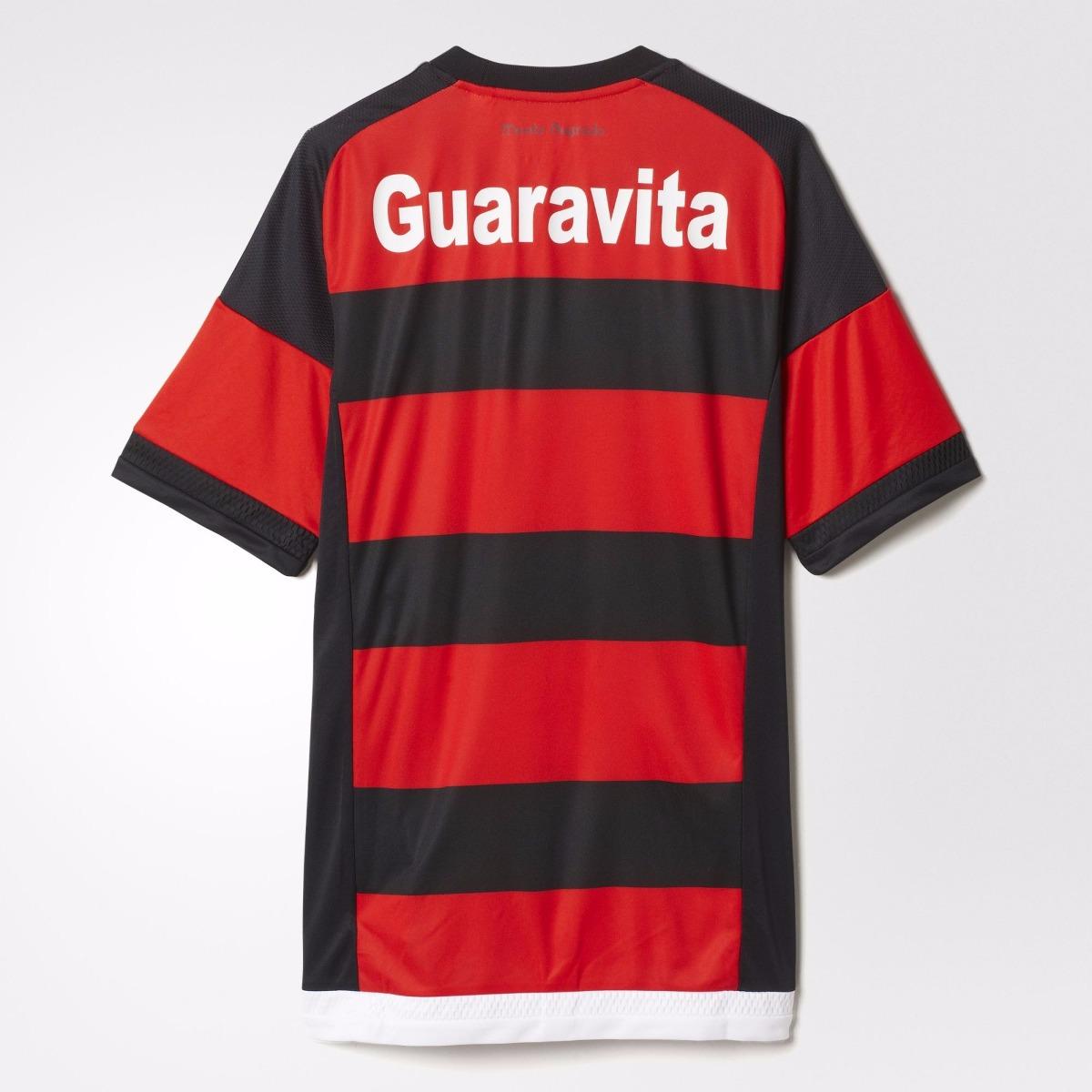 los angeles 82aab 2c32d Playera Jersey Local Cr Flamengo 15/16 Hombre adidas S12957