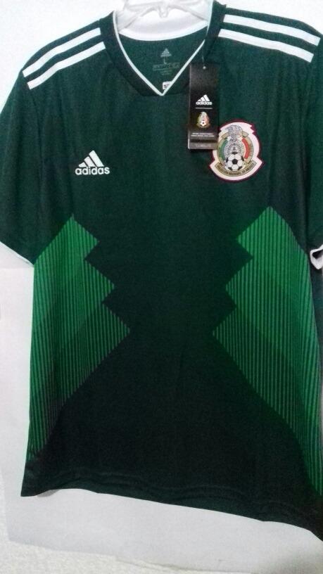 1a32c4073aa7b Playera Jersey Mexico adidas Rusia 2018 Liquidacion -   399.00 en ...