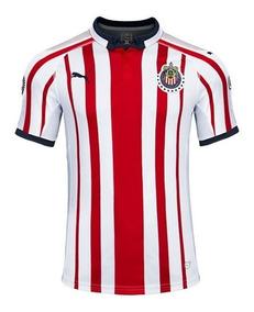 size 40 4fc87 7ff42 Playera Jersey Puma Chivas Casa 2018 2019 100% Original!!