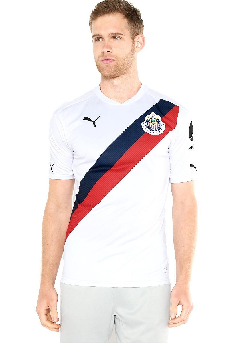 Playera Jersey Puma Chivas Guadalajara 16 17 Visitante... -   549.00 ... 298b243ba015b