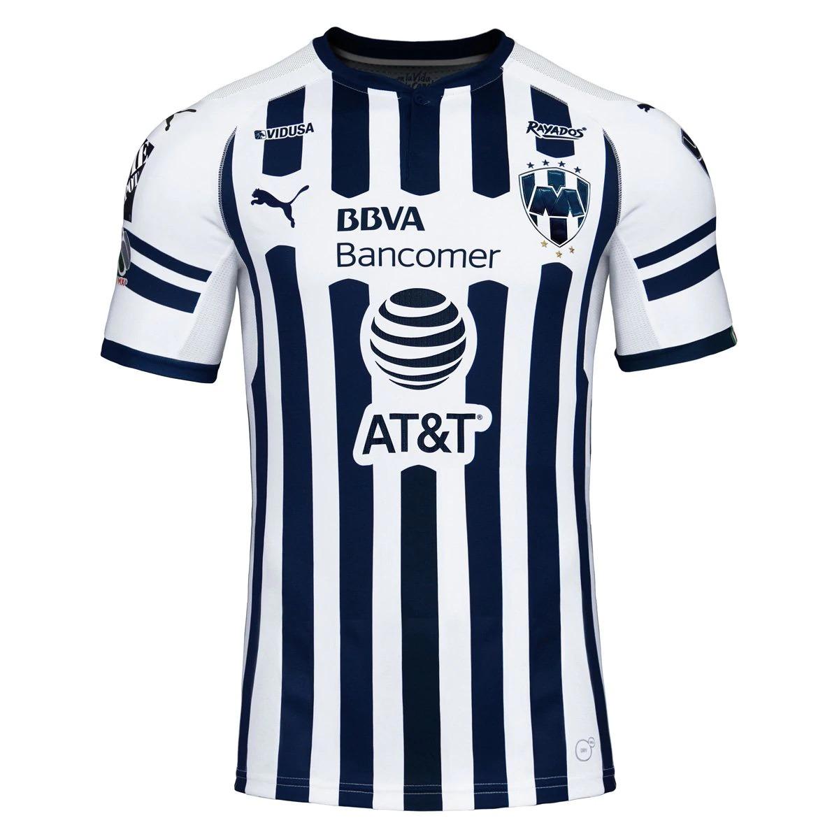 15aaeb286c5a8 Playera Jersey Rayados Local Monterrey 2018-2019 Funes Mori ...