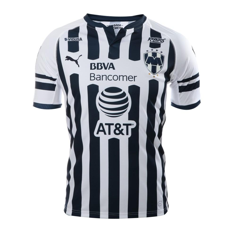 Playera Jersey Rayados Monterrey 2018-19 15fff871ec37f