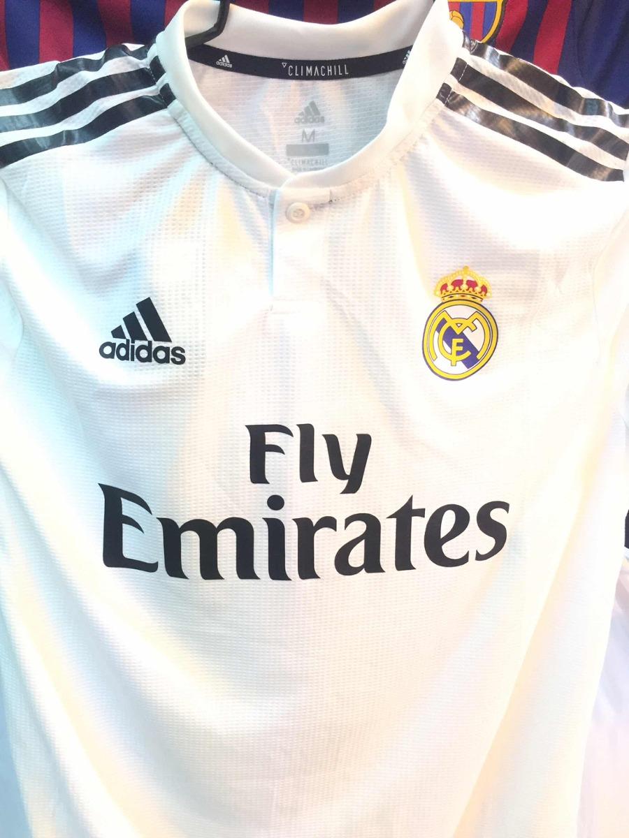 318e54a3f76e1 Playera Jersey Real Madrid Nueva Local (hay Tallas) -   550.00 en ...
