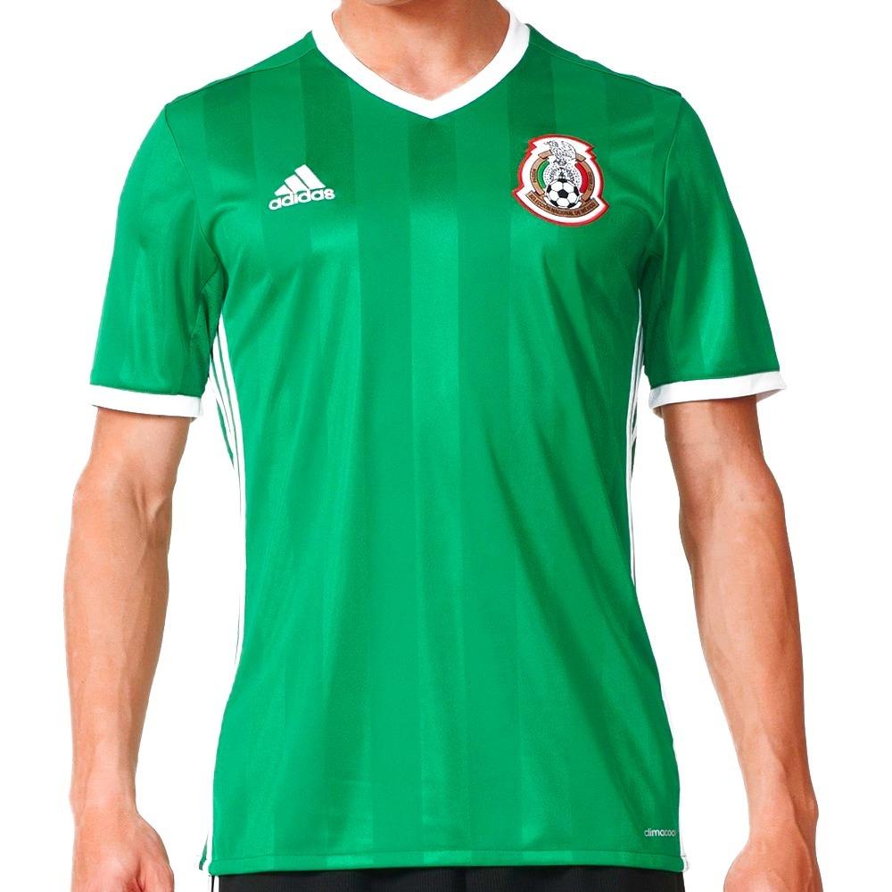 Playera Jersey Seleccion De Mexico 16 Hombre adidas Ac2723 ... 634b57aeb996e
