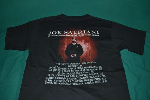 playera joe satriani - mexico tour '08 -
