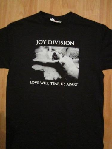 playera joy división,love will tears us apart