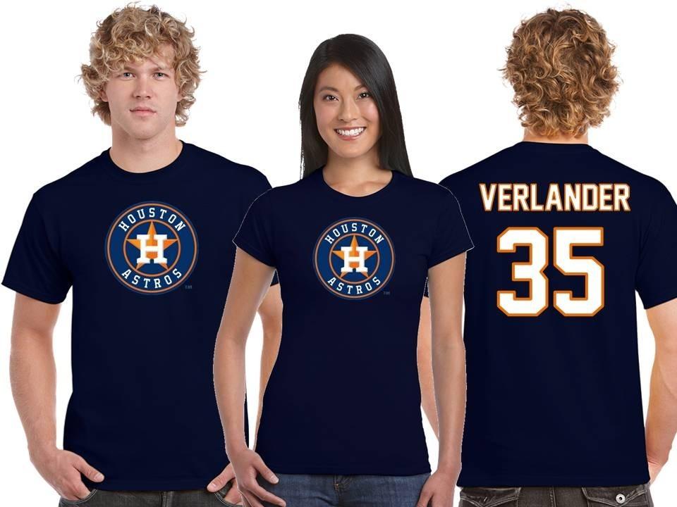 best service 65351 b414d Playera Justin Verlander Jersey Houston Astros Mlb