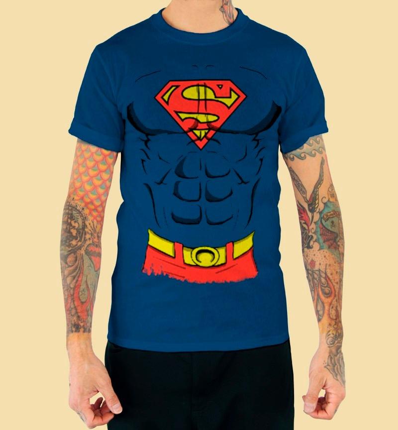Playera King Monster Dc Comic Mod  Pecho Superman -   220.00 en ... 2632633aeb47f