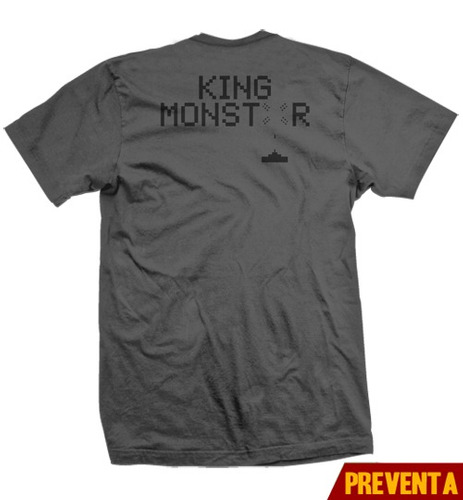 playera king monster justice space