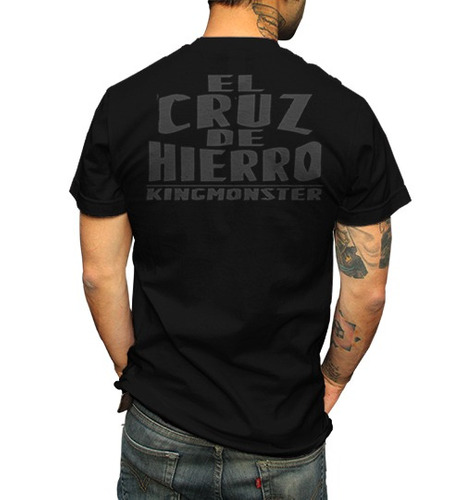 playera king moster el cruz de hierro