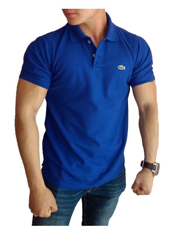 6289b20b3df0a Playera Lacoste Tipo Polo Color Azul Rey Regular Fit -   399.00 en ...