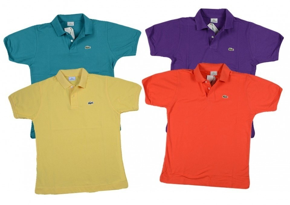 b90b44187013f Playera Lacoste Tipo Polo Original 100% Varios Colores -   399.00 en ...