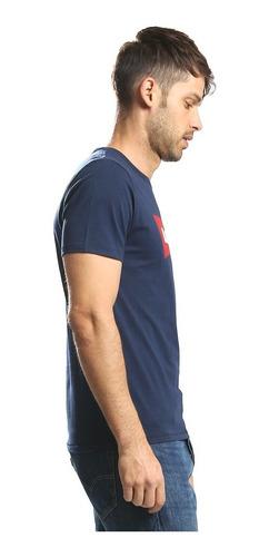 playera levi's® hombre azul logo original batwing graphic se