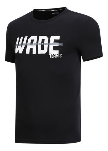 playera li-ning casual wade team performance
