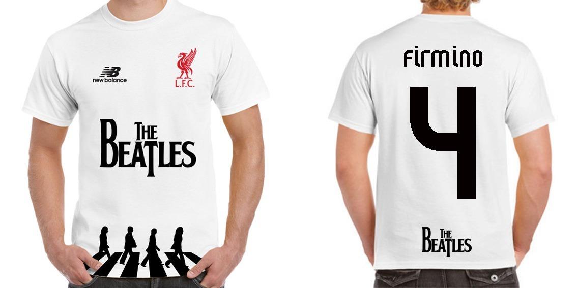 huge discount 58cf0 2a695 Playera Liverpool Fc Edición Especial The Beatles Best