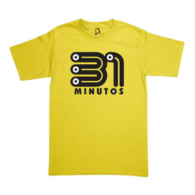Playera Logo 31 Minutos