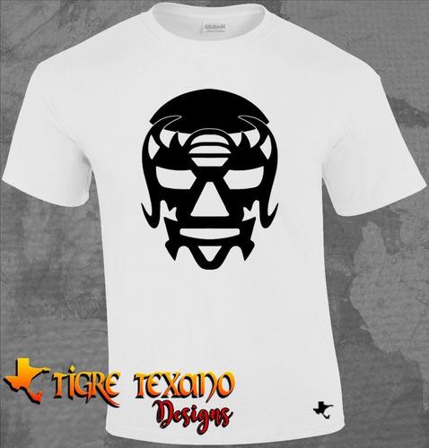 playera lucha libre máscara año 2000 by tigre texano designs
