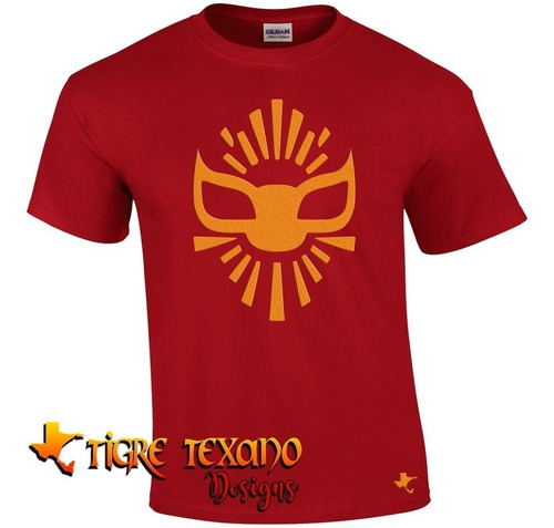 playera lucha libre místico          by tigre texano designs