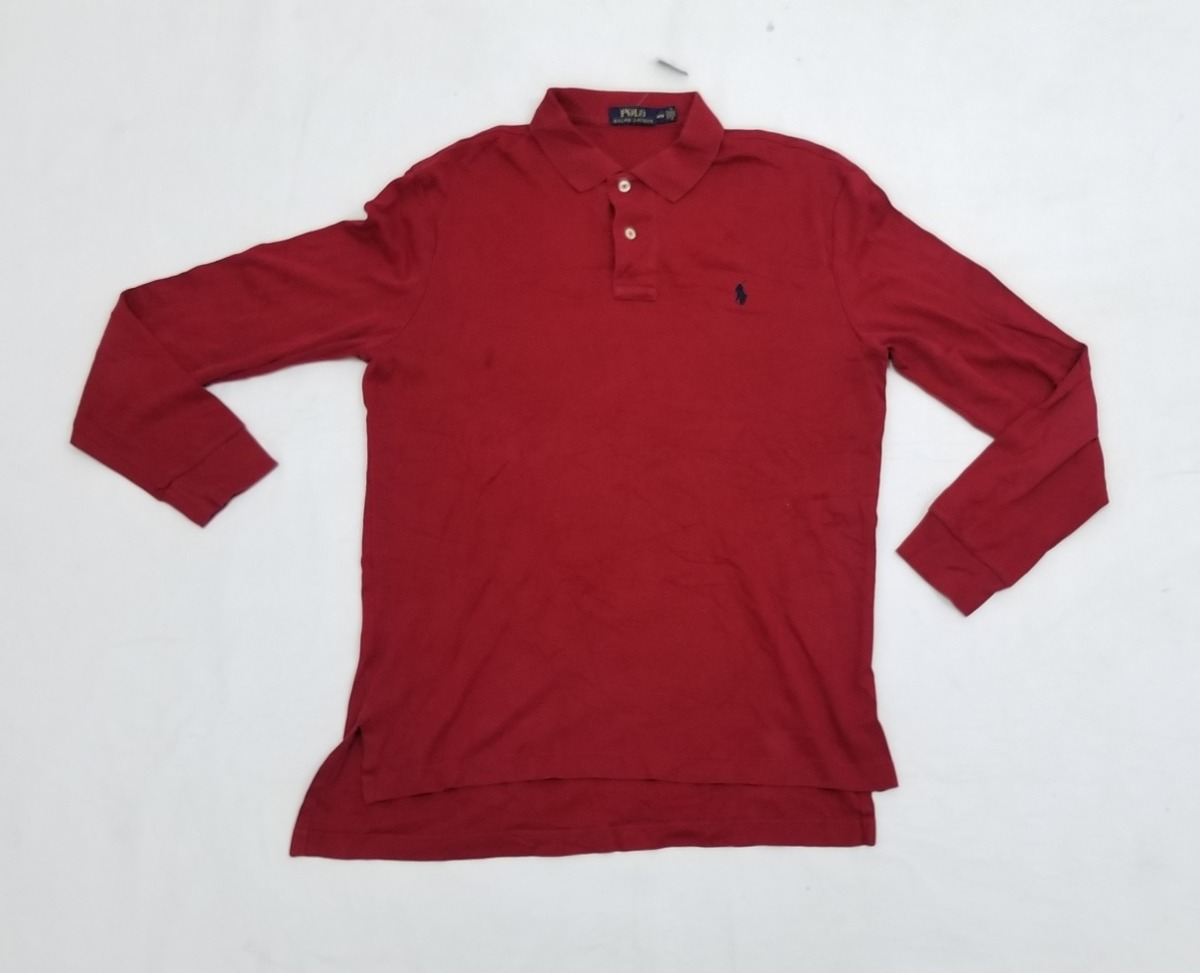 51c5a7f54eb96 Playera Manga Larga Polo Ralph Lauren