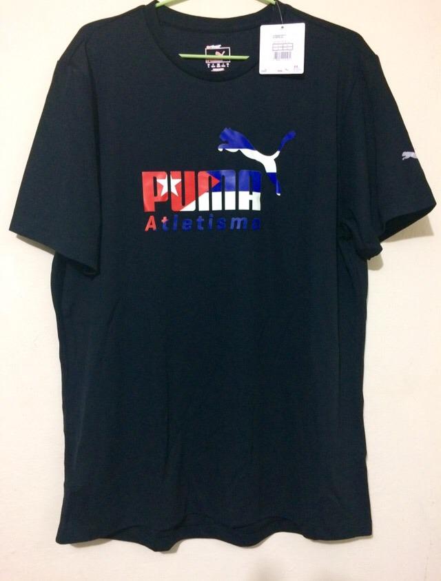 quality design 64a0e 17569 ... Playera Marca Puma De La Selección Cubana De Atletismo T-l .