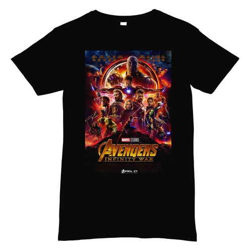 playera marvel avengers infinity war d3 impresion digital