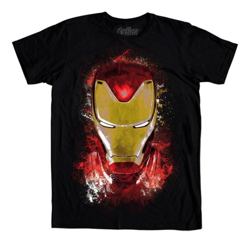playera mascara de latex golden avenger avengers endgame