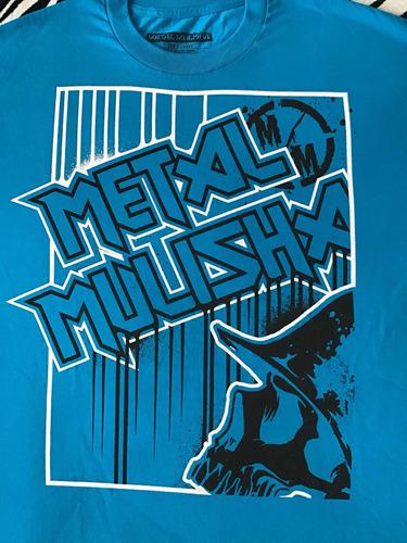 playera metal mulisha (talla xl) 100% original nueva skate
