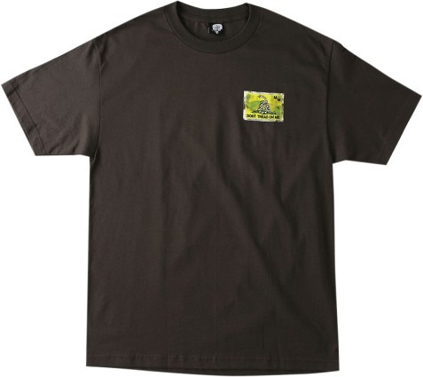 playera metal mulisha tread hombre manga corta marrón xl