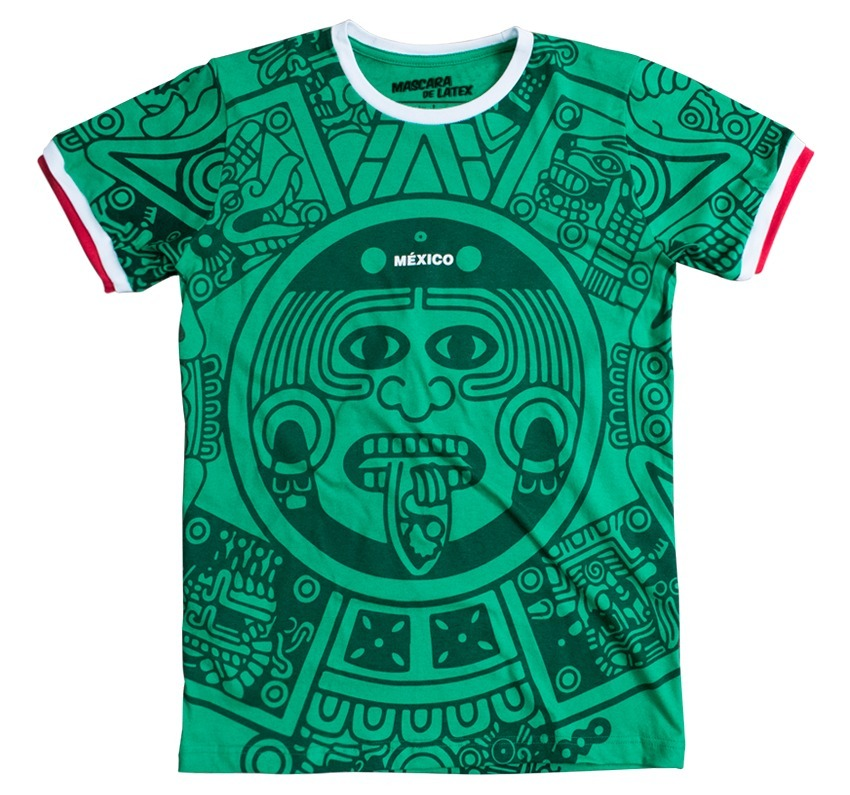b66df99740857 Playera México 98 Mascara De Latex Mundial -   299.00 en Mercado Libre