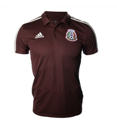 Playera México Polo adidas Original No Clon No Pirata -   349.00 en ... d89e66d93e147