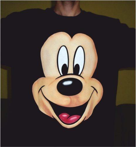 Playera Mickey Mouse Aerografia - $ 170.00 en Mercado Libre