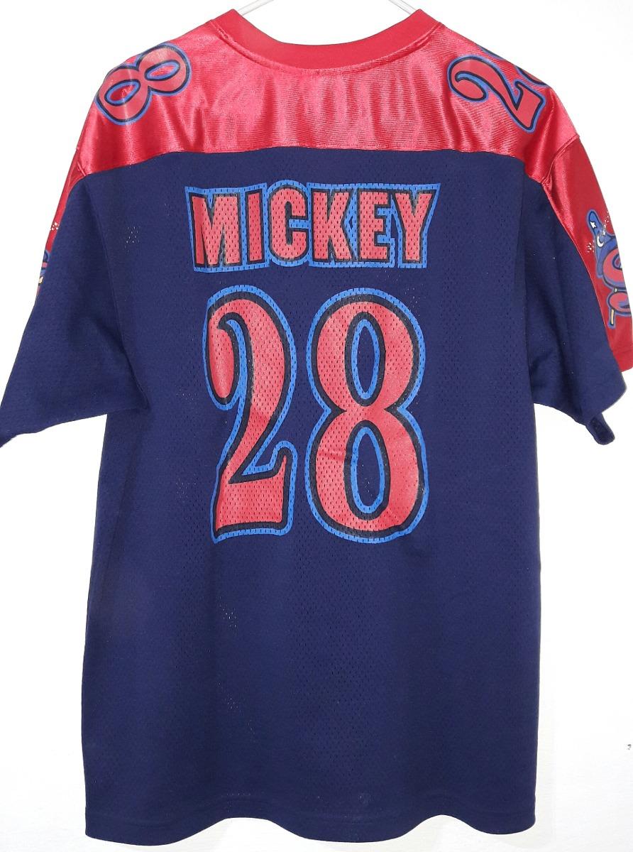 Playera Mickey Mouse Jersey Fútbol Americano -   250.00 en Mercado Libre eab06837bcf