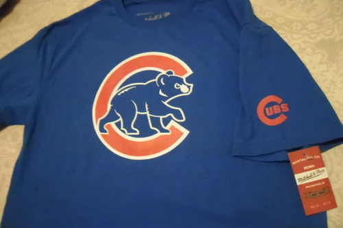 playera mlb chicago cubs m&n envio gratis