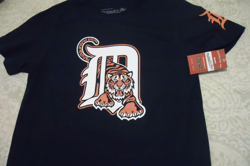 playera mlb detroit tigers m&n envio gratis