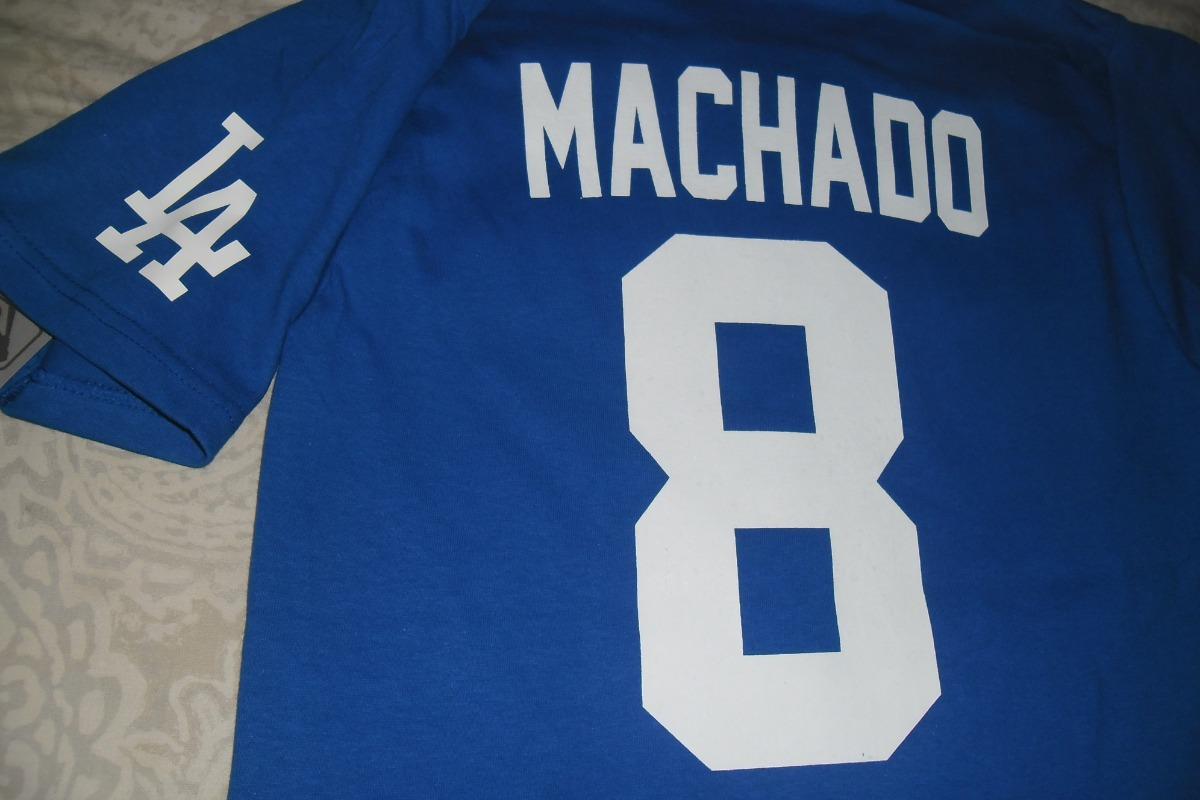online store c245d 5aa36 Playera Mlb Los Angeles Dodgers Manny Machado