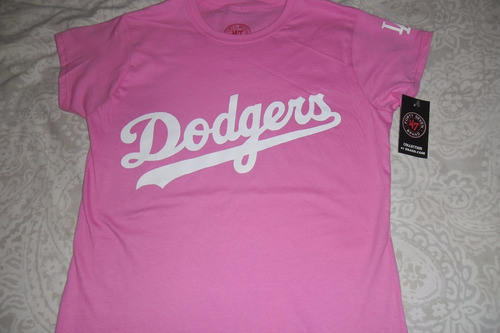 playera mlb los angeles dodgers para dama envio gratis