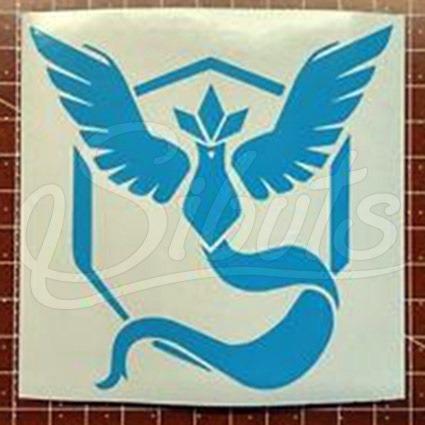 playera mujer pokemon go con diseño mystic team  + sticker