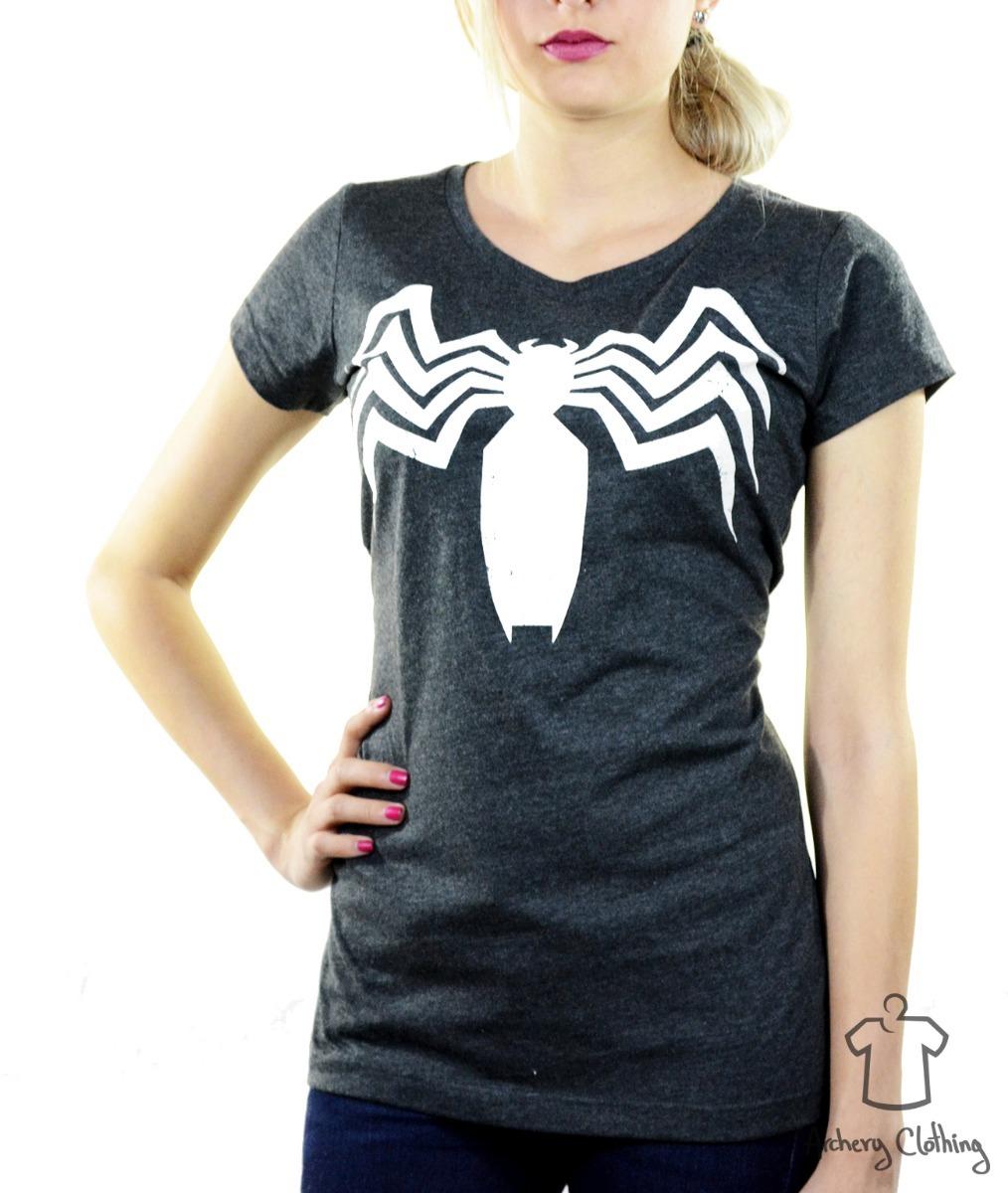 Playera Mujer Venom Logo Máscara De Látex -   270.00 en Mercado Libre 50c83fc910e90